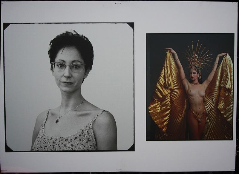 """tn_8, Q-ltura – pisał i pstrykał FotoMaximus Wystawa """"Kobiety"""" Annie Leibovitz na ogrodzeniu Ogrodu Botanicznego Uniwersytetu Warszawskiego - od 16 kwietnia do 15 maja."""