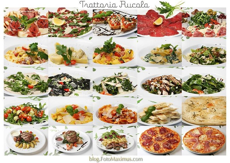 Świeża, aromatyczna i przepyszna kuchnia - Trattoria Rucola - fotografować Was było bosko... i przepysznie :-)