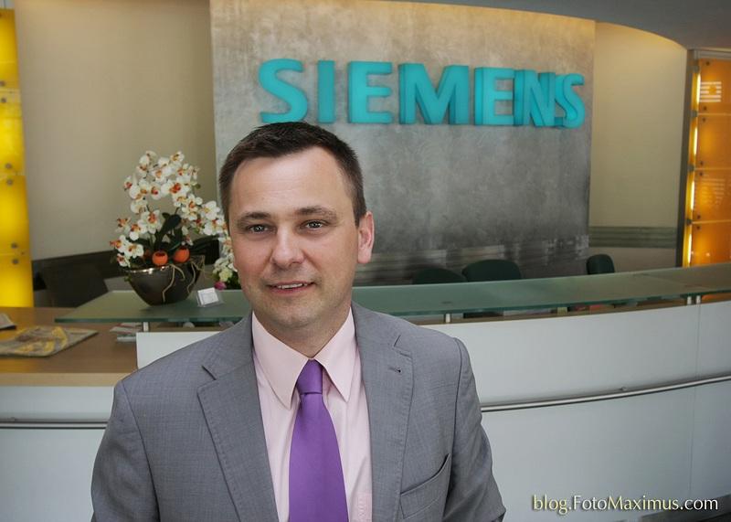 sesja wizerunkowa dla działu PR firmy SIEMENS