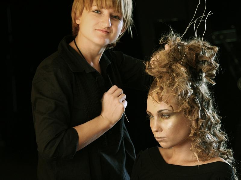 """Justyna """"przy włosach"""""""