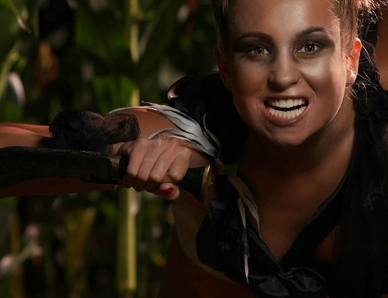 Magda w kukurydzianym buszu