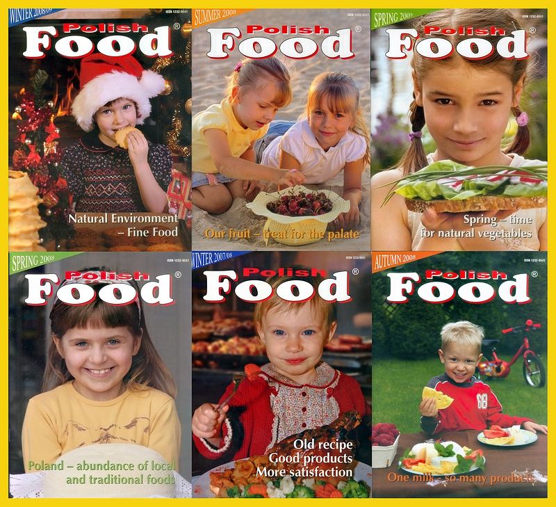 przez 2 lata wykonywałem okładki i wkład zdjęciowy do anglojęzycznego kwartalnika Polish Food  promującego polską żywnośc na świecie